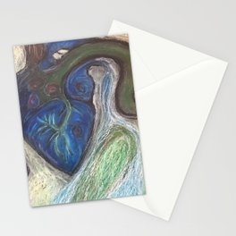 The Mystery Of The Poisoned Heart Stationery Cards