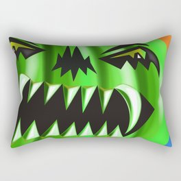 ALL SMILES NOW Rectangular Pillow