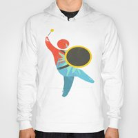 drum Hoodies featuring I Drum  by ArtistArt