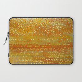 Landscape Dots - Orange Laptop Sleeve