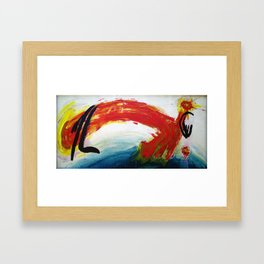 Single Whip Framed Art Print