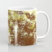 emerald Mugs featuring Emerald by Alicia Bock