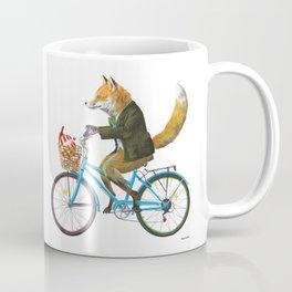 Fox goes to Tea (white) Coffee Mug