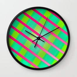 Miami Nice Wall Clock