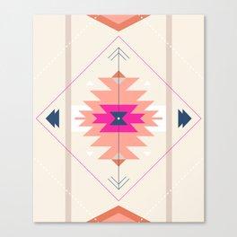 Kilim Inspired Canvas Print
