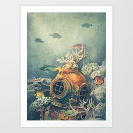 Seachange Art Print