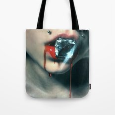 Blood Diamond Tote Bag