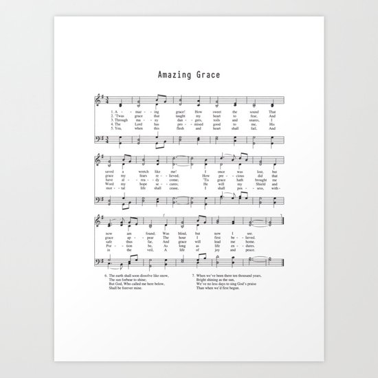 Hymn - Amazing Grace by grenar