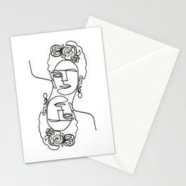 Frida Kahlo Double Stationery Cards