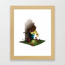 Drippy Framed Art Print