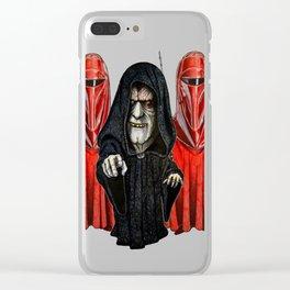 Guarding The Emperor T-Shirt - Sao Chép Clear iPhone Case