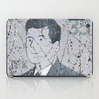 jfk iPad Cases featuring JFK by Doren Chapman