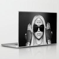 illuminati Laptop & iPad Skins featuring Illuminati Princess by ELIAOKO
