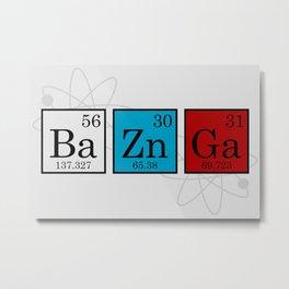 BaZnGa Metal Print