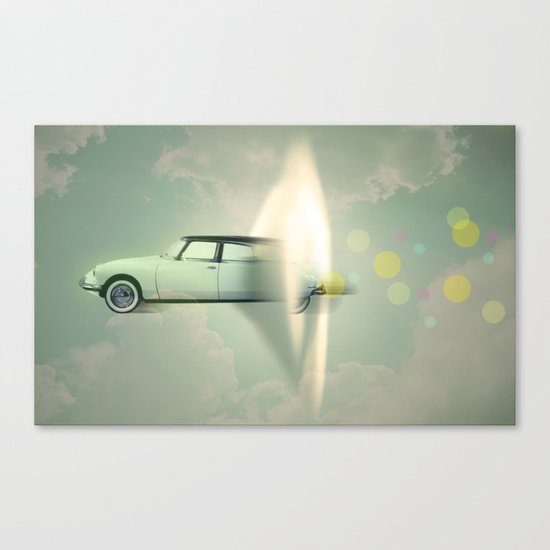 supersonic citroen Canvas Print