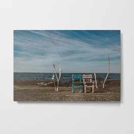 Love Chairs | Udo Metal Print