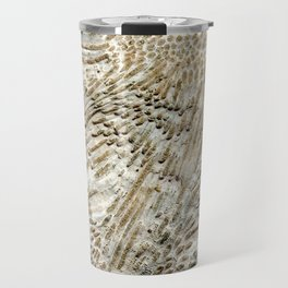 Digital Coral Design Travel Mug