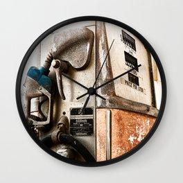 Ye Olde Pump Wall Clock