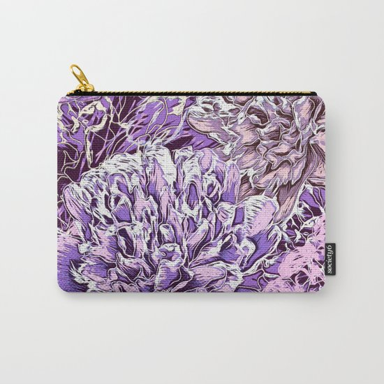 Flowers - blue mood Carry-All Pouch