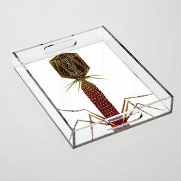 Bacteriophage Virus Acrylic Tray