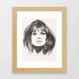 jean jeannie... Framed Art Print