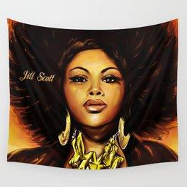 Jill Scott Wall Tapestry