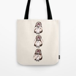 No Evil Shih Tzu Tote Bag