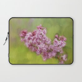 Karen's Lilacs Laptop Sleeve