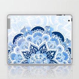 Lacy Blues Laptop & iPad Skin