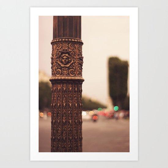 Paris details Art Print