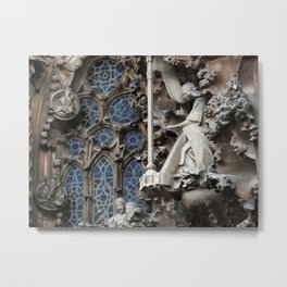 Gaudi Metal Print