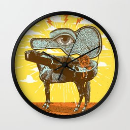 MUSIC OF THE SURREAL Wall Clock