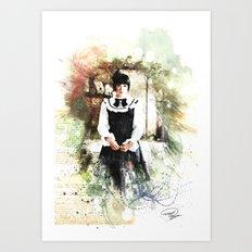 Lolita DaVinci Art Print