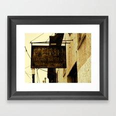 Penn Electric  Framed Art Print