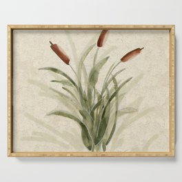cattails 2 Serving Tray