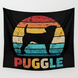 Puggle vintage Wall Tapestry