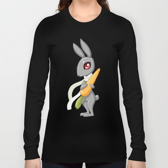 Bunny Carrot 3 Long Sleeve T-shirt