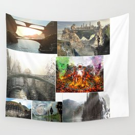 3D Multi 300 Wall Tapestry