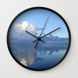 Glass Water at Eneko Wall Clock