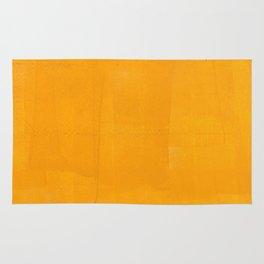 Orange Yellow Paint (Color) Rug