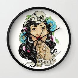 Broken Wall Clock