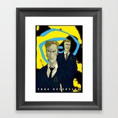 Hail The Yellow King Framed Art Print