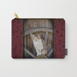 Rustic Ruby Carry-All Pouch