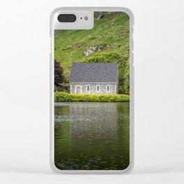 St Finbarr's Oratory,Gougane Barra,Co.Cork,Ireland Clear iPhone Case