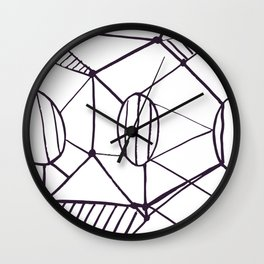 Pica_outline Wall Clock