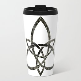 Rustic Celtic Knot Travel Mug