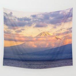 Volcano Wall Tapestry