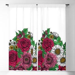 Chintz- Autumn bouquet Blackout Curtain