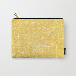 raleigh map yellow Carry-All Pouch