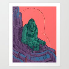 The Smuggler Art Print